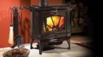 Hampton Medium Wood Stove - Timberline Brown