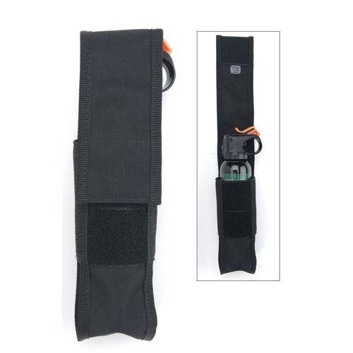 Mace Muzzle Bear Spray Holster - Soft Nylon Black